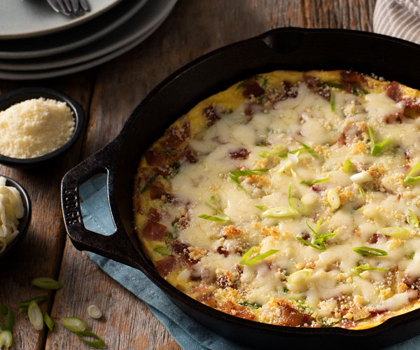 Photo of - Cheese and More Cheese Frittata