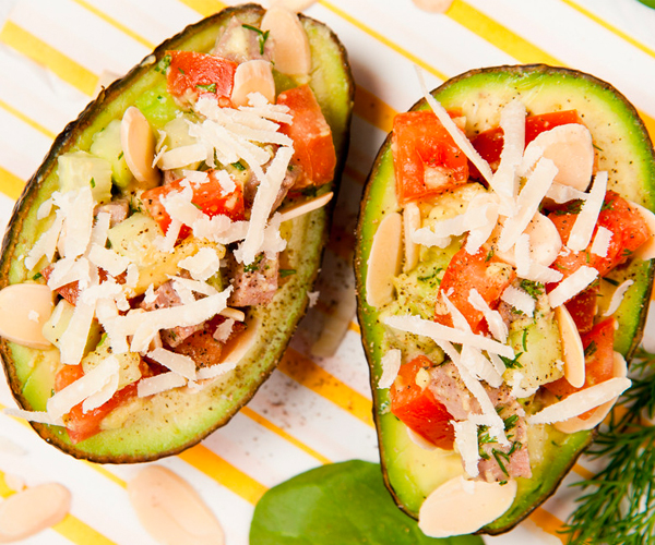 Photo of - Avocado with Tangy Topping