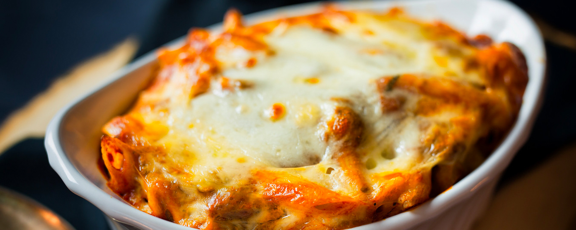 Photo for - Baked Ziti with Mushrooms and Sausage