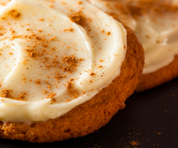 Photo of - Brown Butter Ginger Cookies with Mascarpone Cream