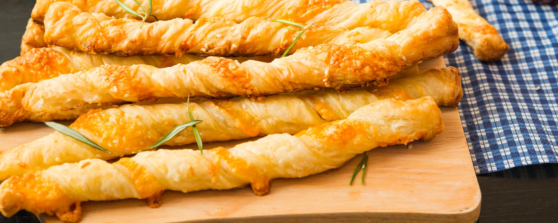 Cheese and Potato Bread Twist | Salerno