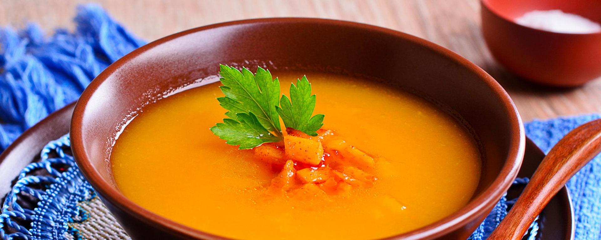 Photo for - Curried Carrot and Mascarpone Soup