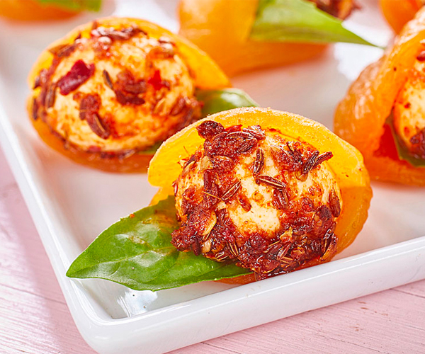 Photo of - Harissa Spiced Bocconcini Bites