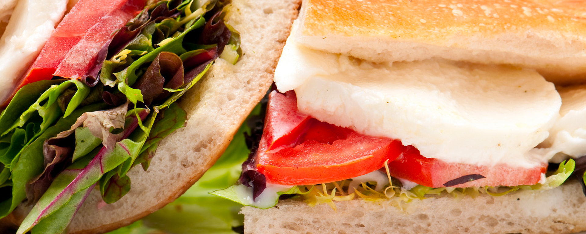 Photo for - Mediterranean Layered Sandwich