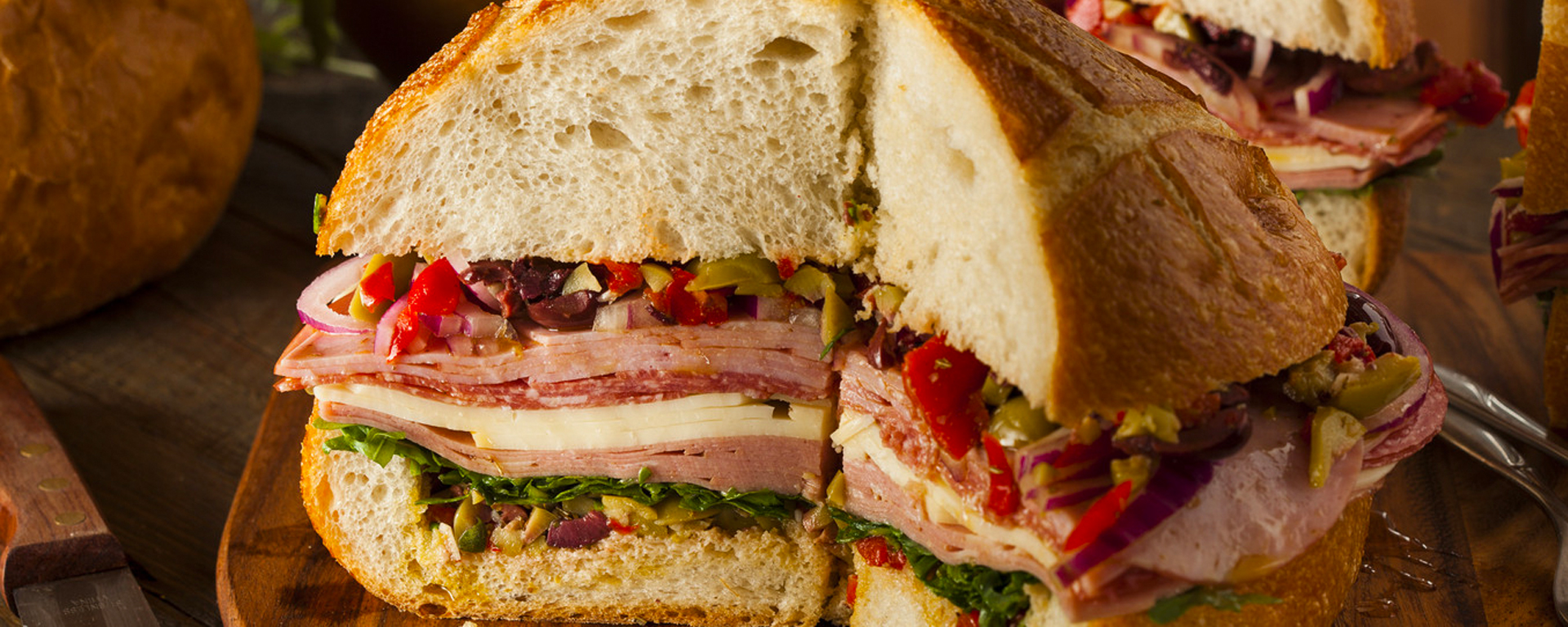 Photo for - Muffuletta Sandwich