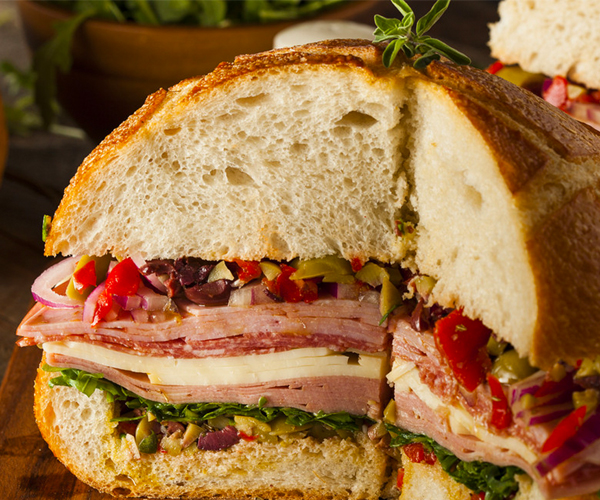 Photo of - Sandwich muffuletta