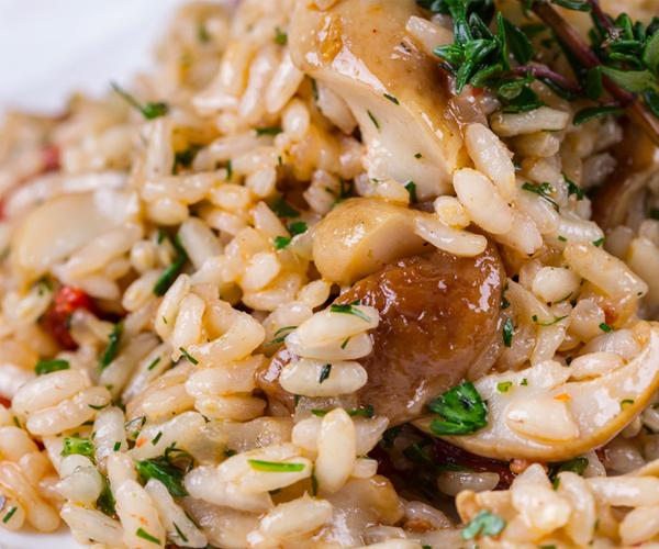 Photo of - Mushroom Leek Pilaf