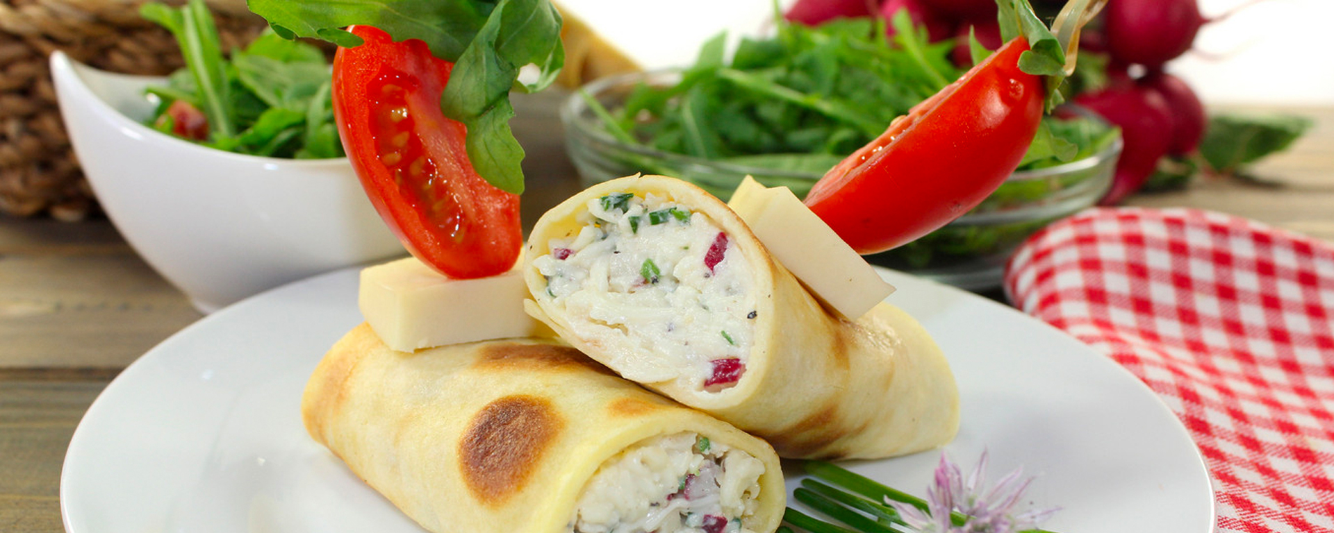 Photo for - Ricotta and Sage Crepes