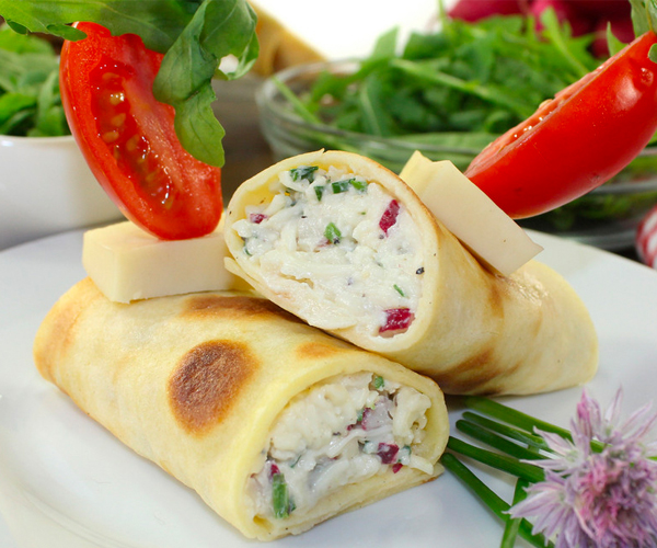 Photo of - Ricotta and Sage Crepes