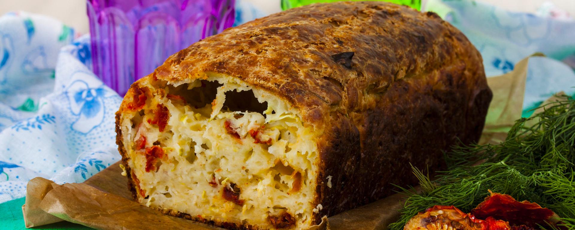 Photo for - Sun-Dried Tomato and Provoloncino Bread