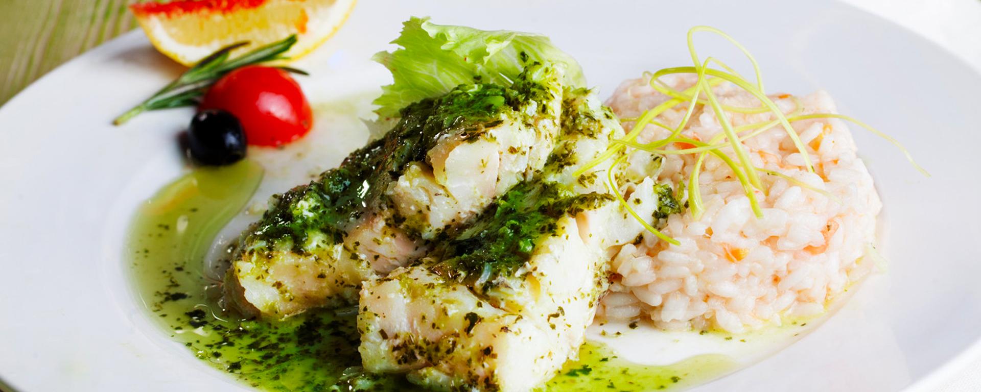 Photo for - Tilapia au pesto