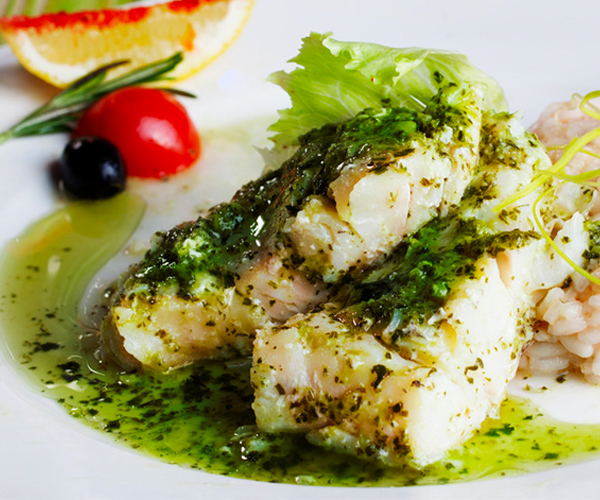 Photo of - Tilapia with Pesto