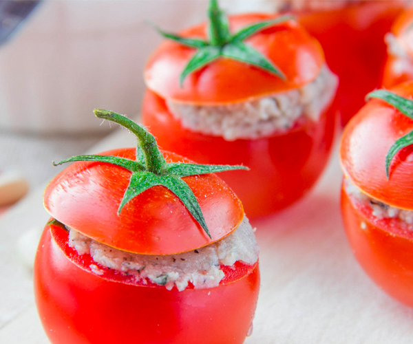 Photo of - Valentine's Tomato Bites