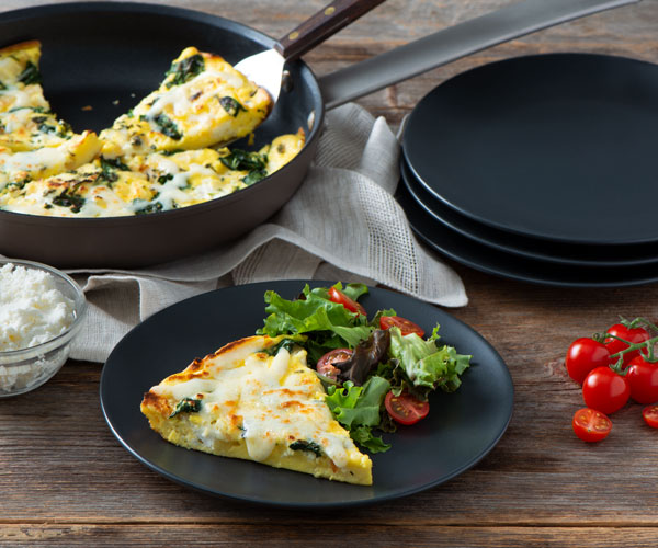 Photo of - Onion and Herb Frittata