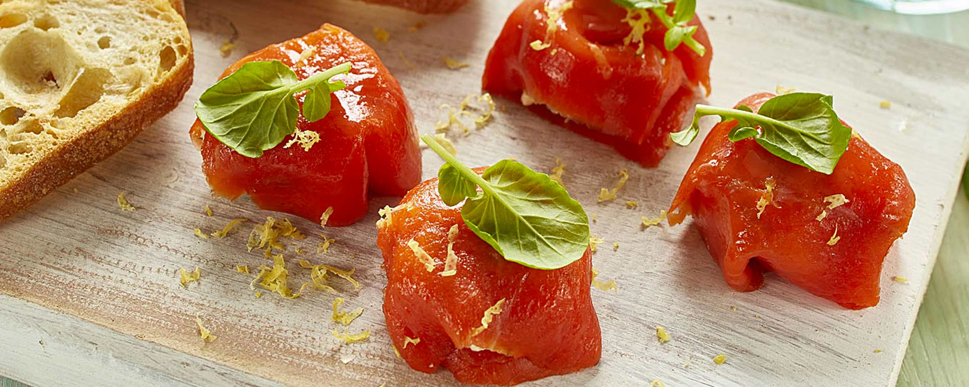 Photo for - Smoked Salmon Parcels