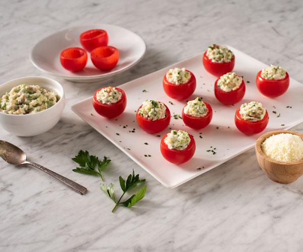 Photo of - Bouchées aux tomates de la Saint-Valentin