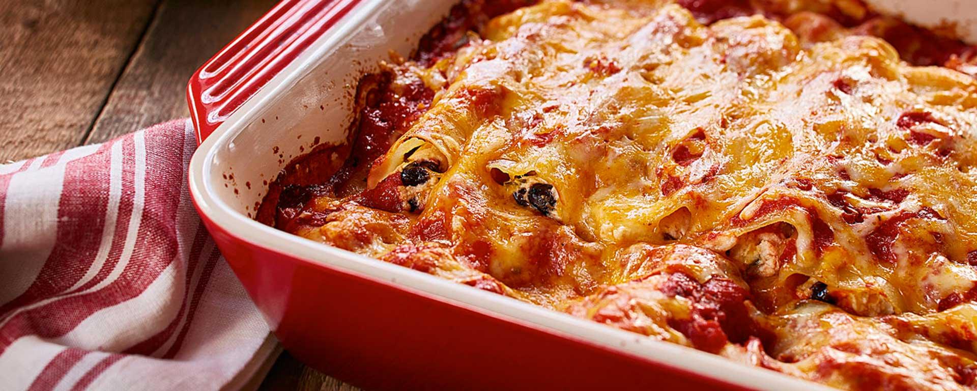 Photo for - Salsa Chicken & Black Bean Cannelloni
